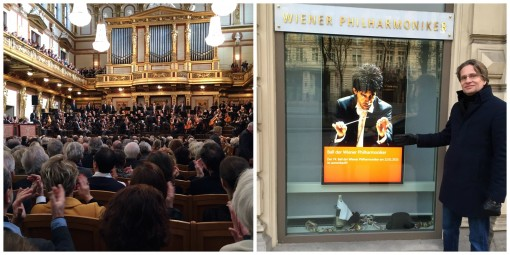 Artistic Director Jacob Soelberg at the Musikverein for Rafael Payare's debut with the Vienna Philharmonic